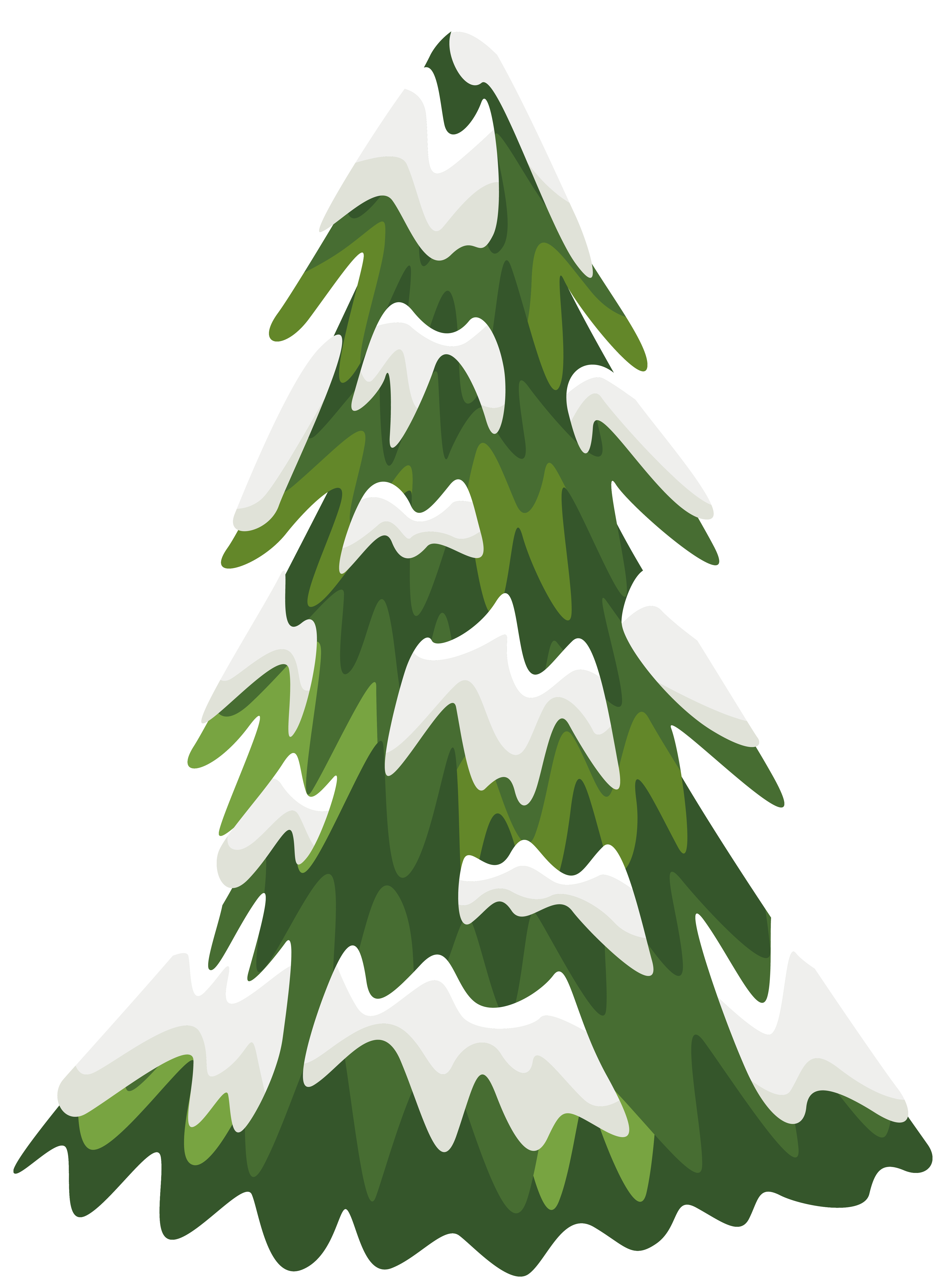 4587x6313 Pine Tree Snow Borders Clipart Amp Pine Tree Snow Borders Clip Art