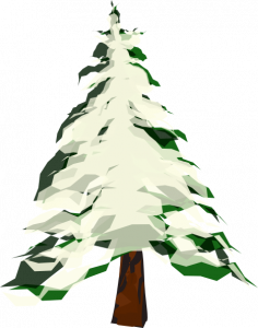 236x300 Snowy Tree Clipart Tree With Snow Clip Art