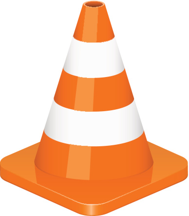 388x443 Clipart Of A Cone