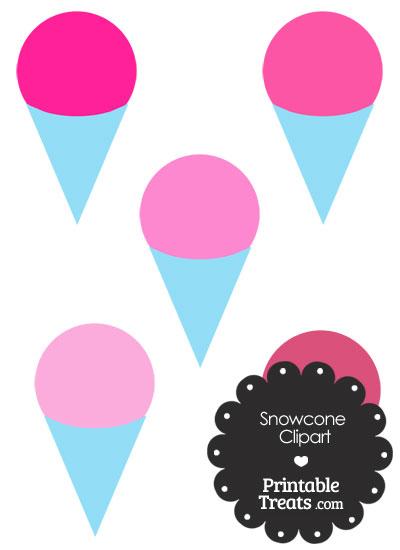 400x550 Snow Cone Clip Art Pink Snow Cone Clipart Printable Treats Clip