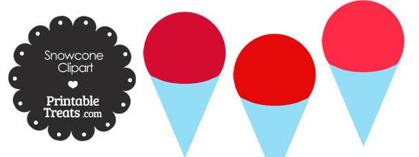 610x229 Snow Cone Clip Art Red Snow Cone Clipart Printable Treats Clipart