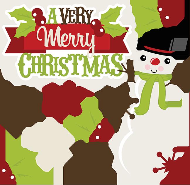 648x630 Christmas Scrapbooking Clipart