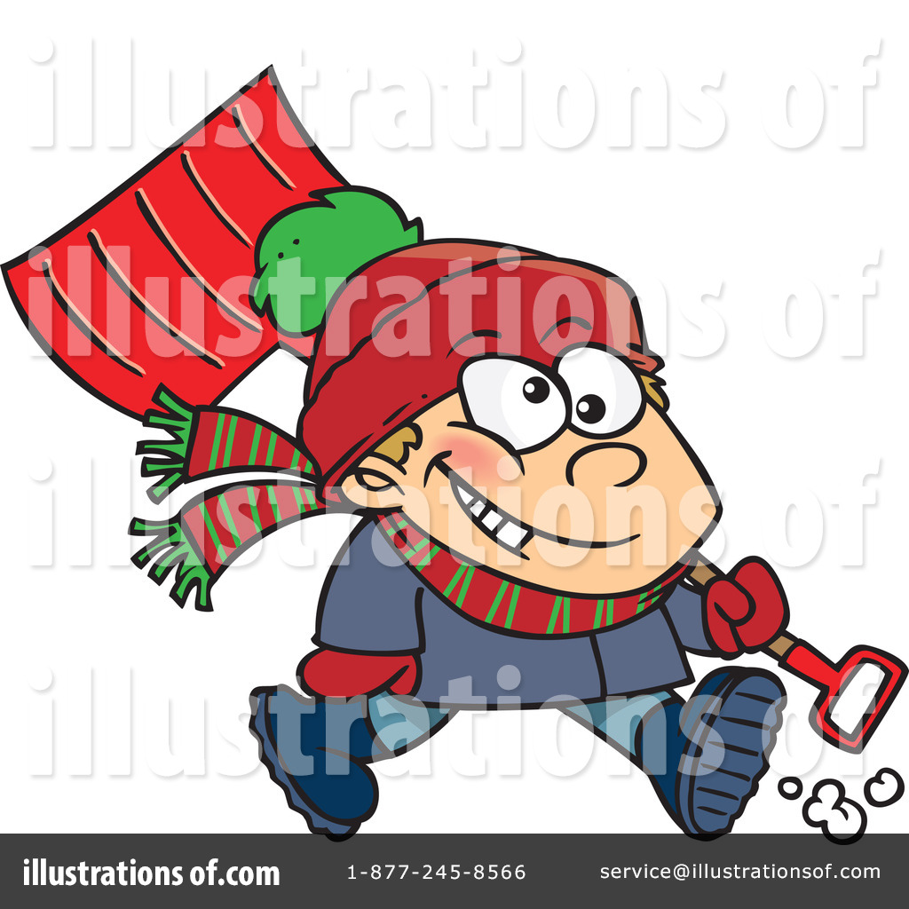 1024x1024 Snow Shovel Clipart