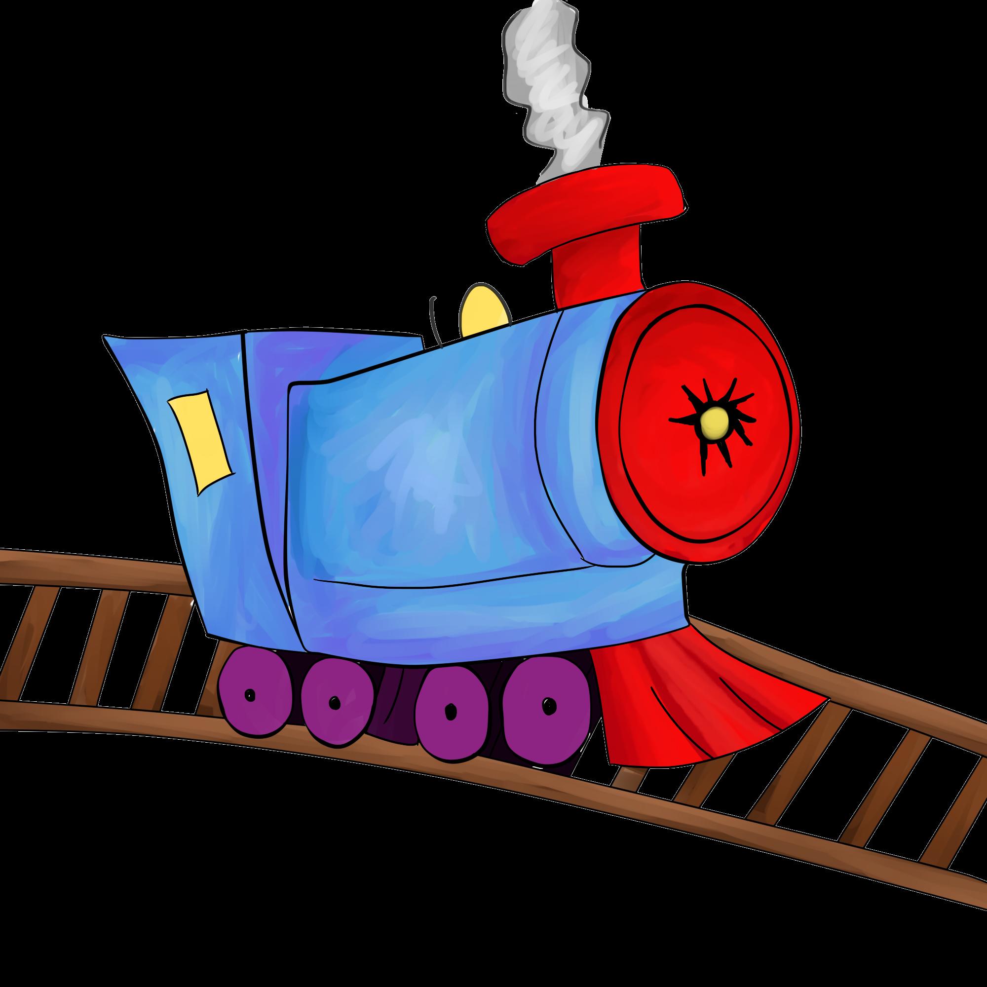 2000x2000 Train Clip Art Free Clipart Images 3