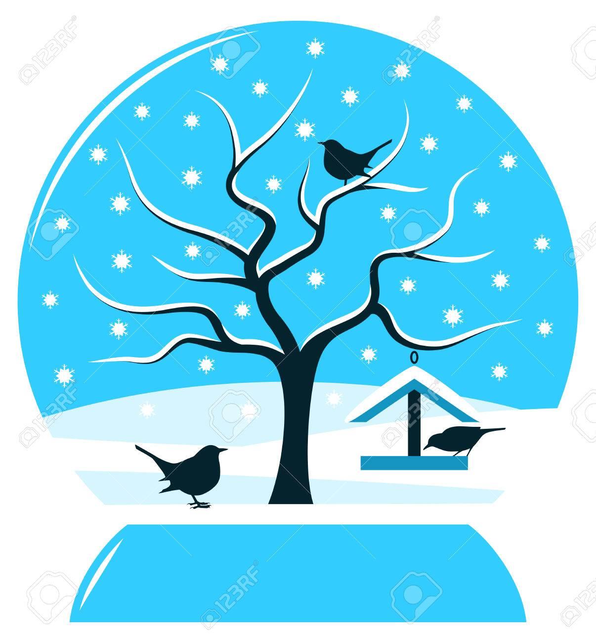 1206x1300 Clipart Bird Table Winter