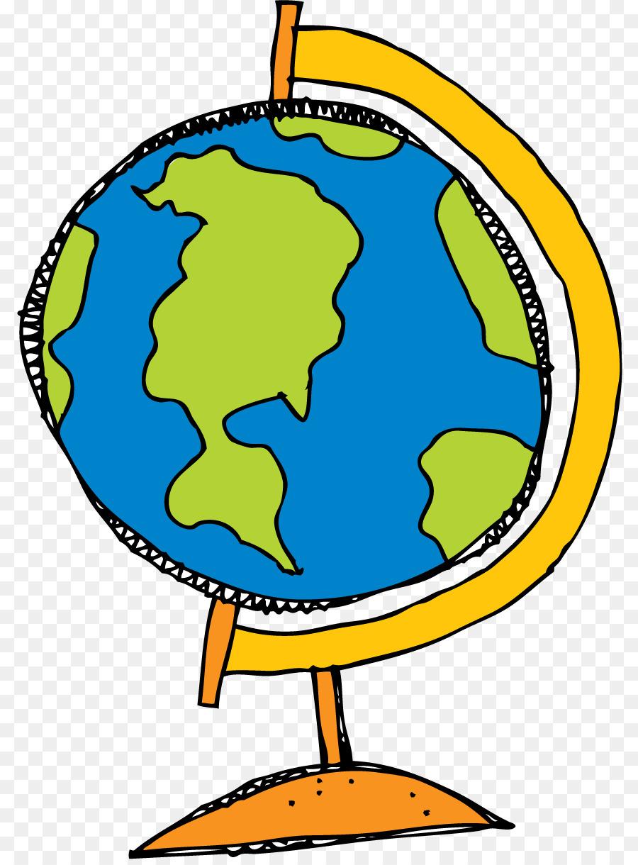 900x1220 Cute Globe Clipart