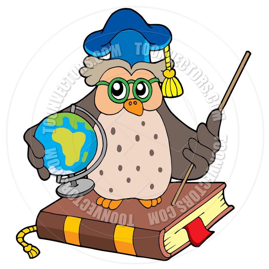 940x940 Globe Clipart Owl