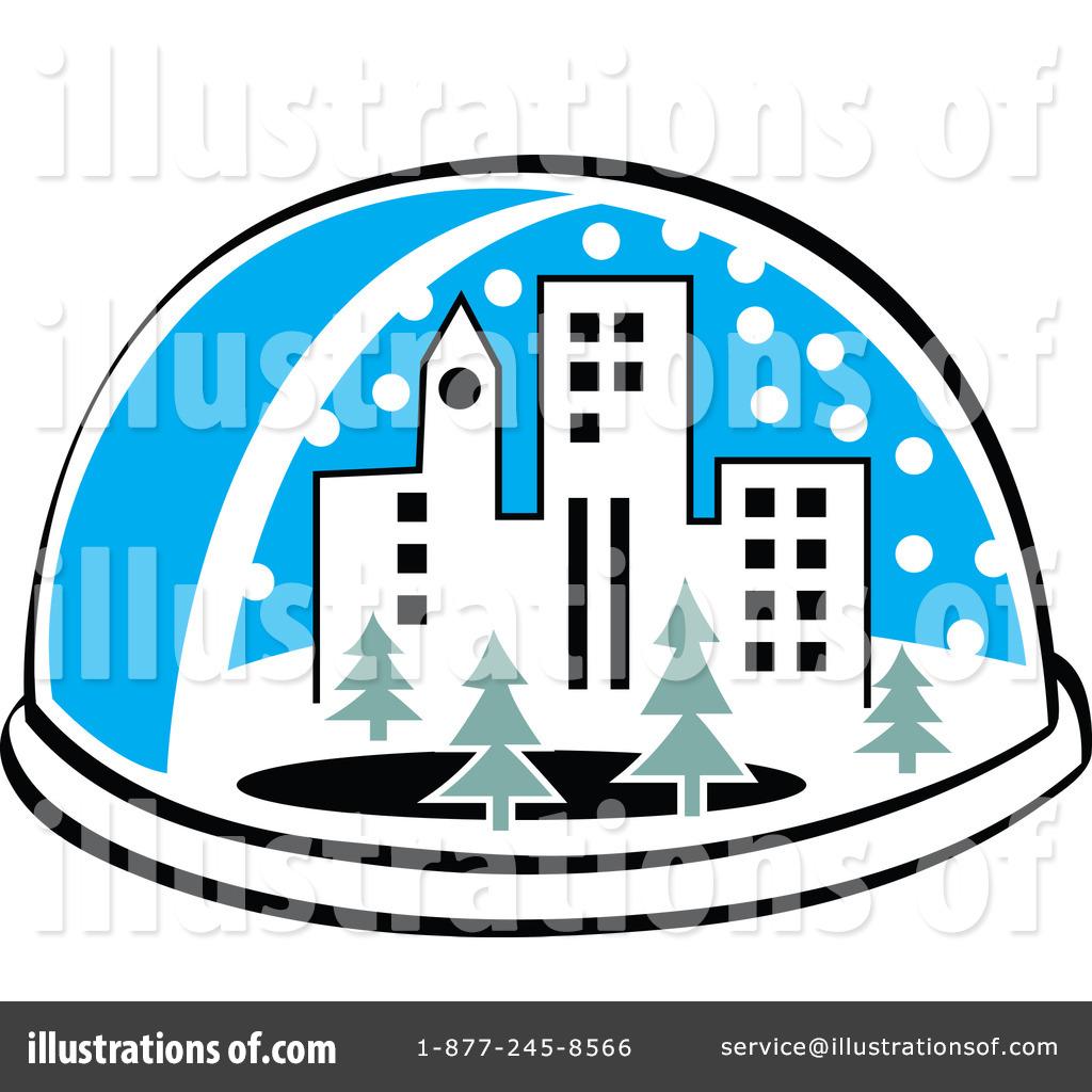 1024x1024 Snow Globe Clipart