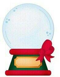 195x251 Christmas Snow Globe Clip Art Clip Art