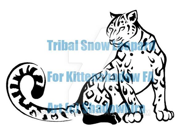 600x432 Tribal Snow Leopard Com 2 By Shadowkira