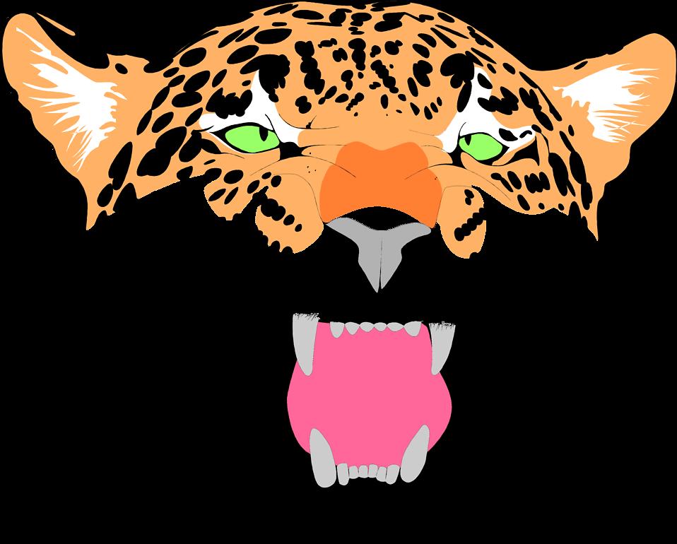 958x770 Jaguar Face Clipart