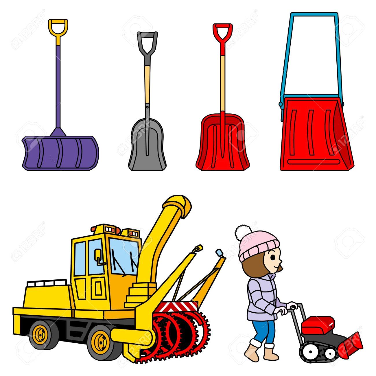 Snow Plow Clipart