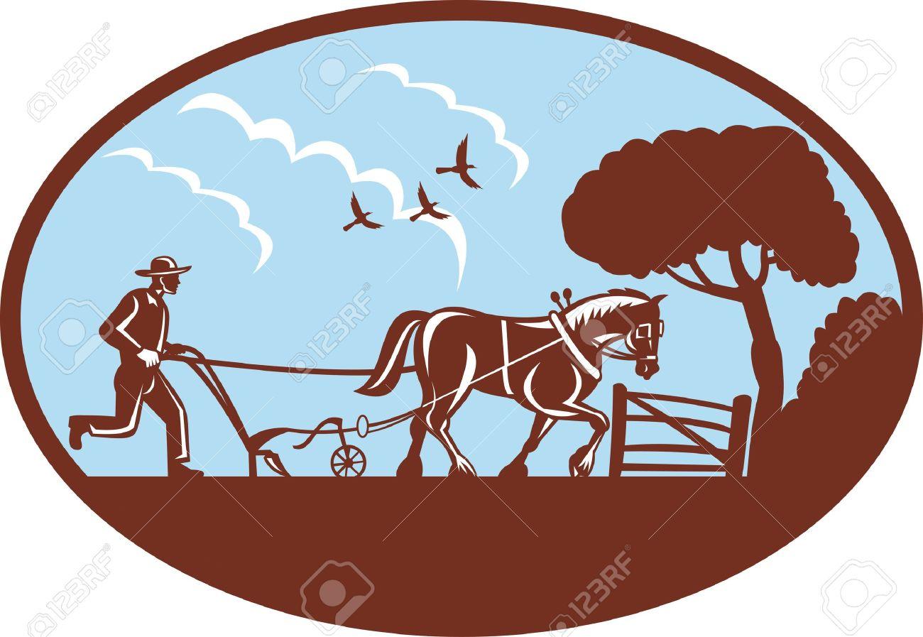 1300x897 Horse Plow Clipart Amp Horse Plow Clip Art Images