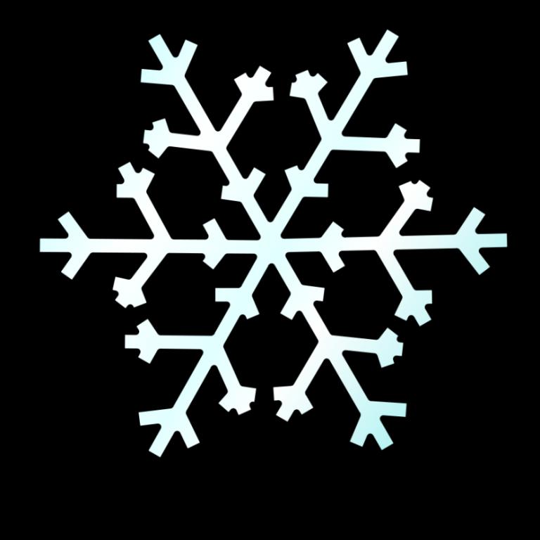 768x768 Snow Clip Art Free