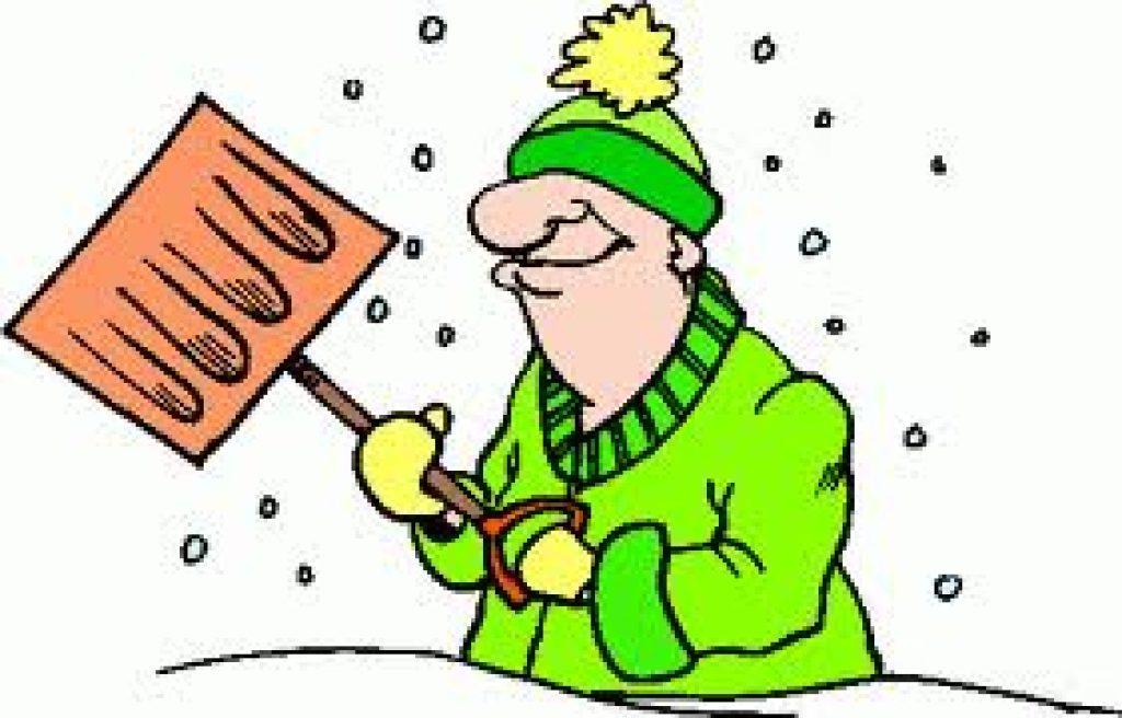 1024x656 Snow Shovels Cliparts