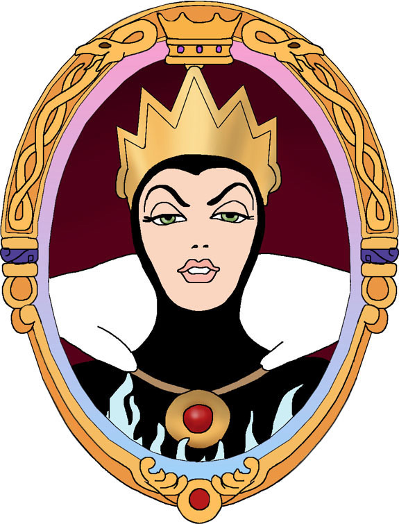 575x755 Queen Clipart Mirror