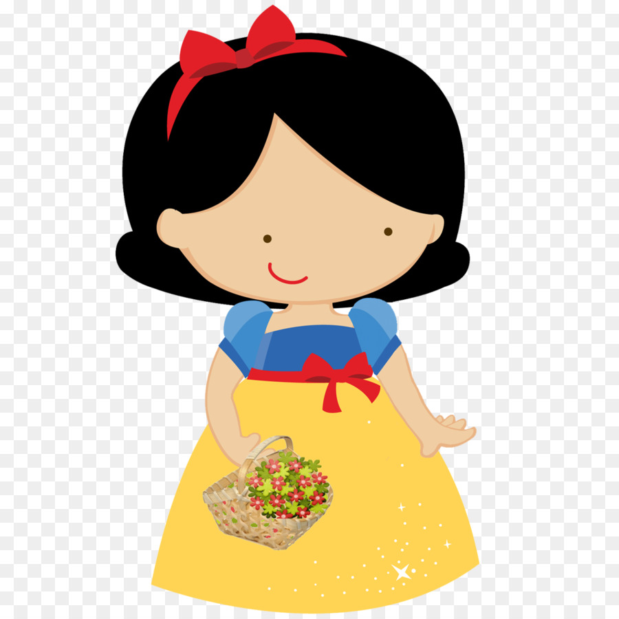 900x900 Snow White Seven Dwarfs Dopey Clip Art