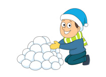210x153 Nice Ideas Snowball Clipart Seasons Clip Art By Phillip Martin