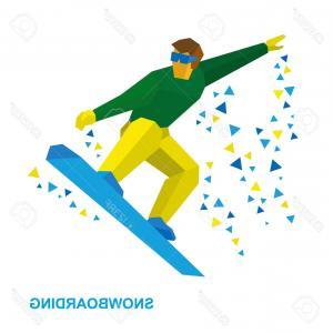 300x300 Happy Snowboarding Kids Vector Clip Art Shopatcloth