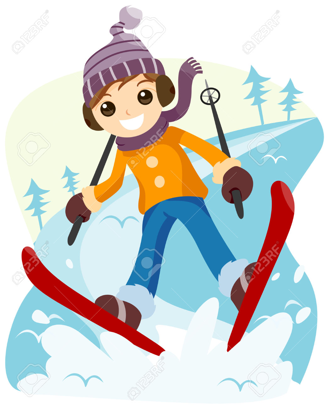 1048x1300 Ski Clipart Guy