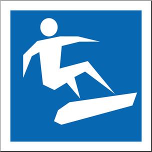 304x304 Clip Art Winter Olympics Event Icon Snowboarding Color I