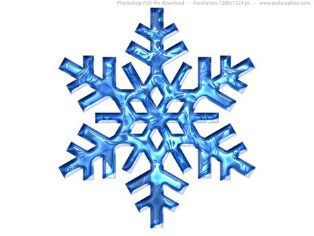 456x342 Free Blue Snowflake Icon (Psd) Clipart And Vector Graphics