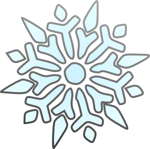 300x298 18lovely Clipart Snowflakes