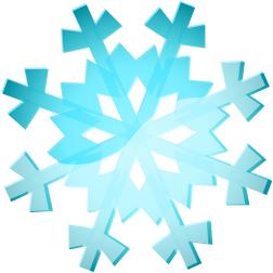 252x252 Snowy Weather Clip Art
