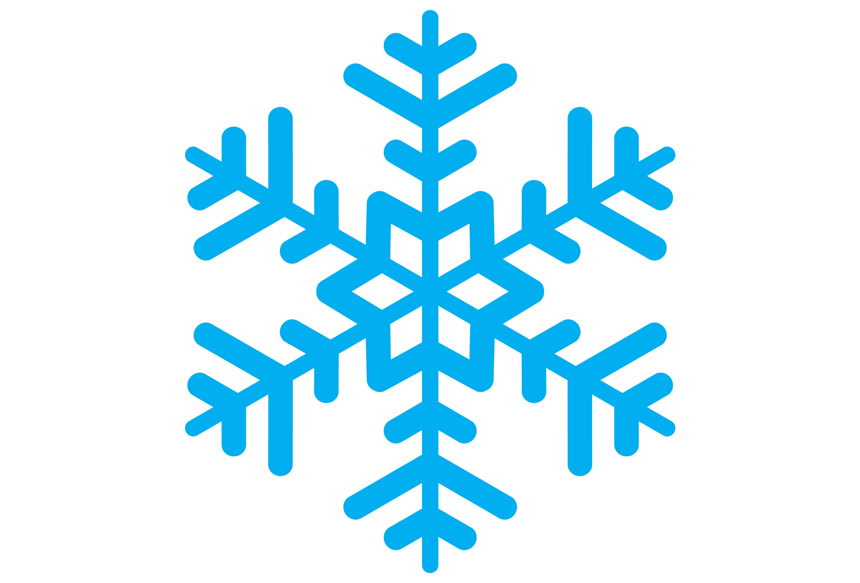 2800x1900 Snow Flakes Clipart Snowflake Clipart Simple Snowflake 20