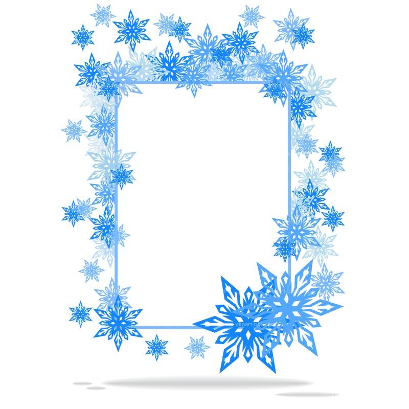800x800 Snowflake Frame Snowflake Frame Cliparts Free Download Clip Art