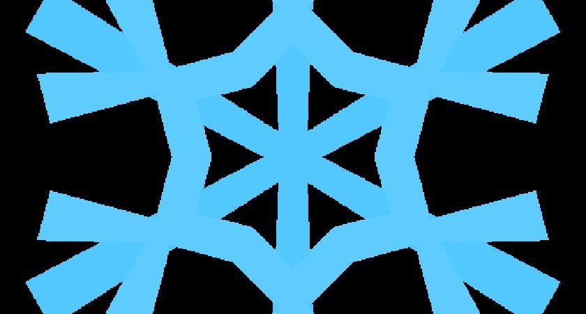 840x450 Clip Art Blue Snowflake Clipart