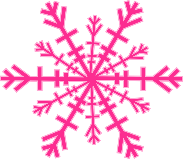 600x520 Colored Snowflakes Colored Snowflakes Clipart Clip Art Library
