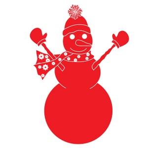 300x300 Free Free Snowman Clip Art Image 0515 0911 1801 5833 Christmas