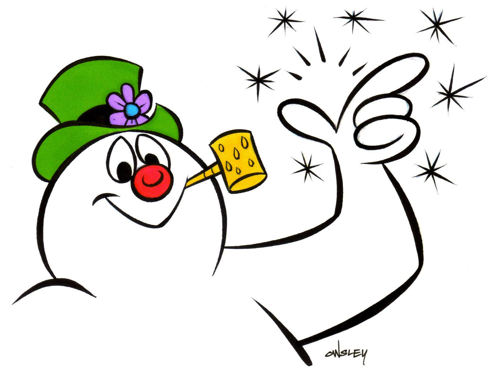 1600x1218 Frosty The Snowman Clipart