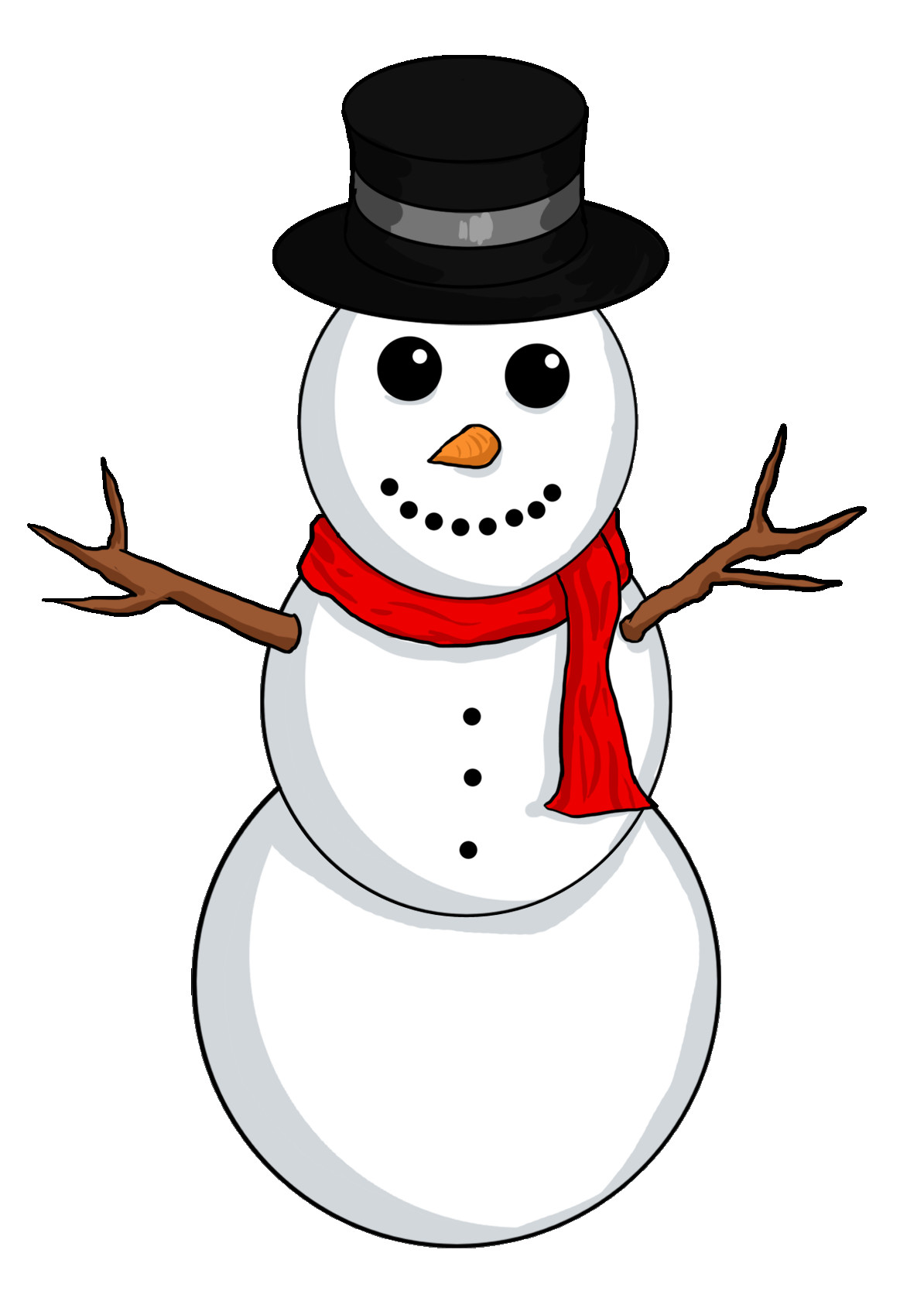 1194x1668 Snowman Clipart Free Clipartmonk Clip Art Images Also Thatswhatsup