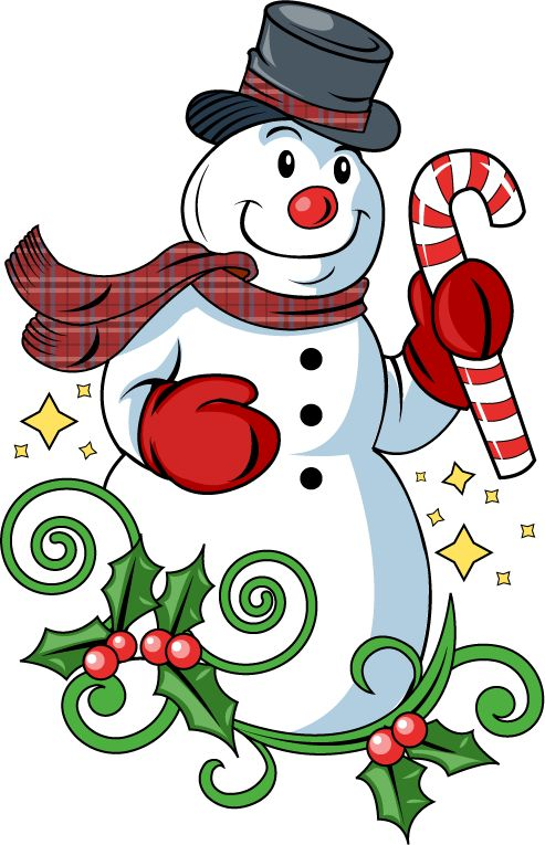 Snowman Clipart For Kids