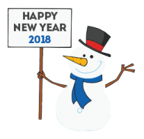 207x200 Happy New Year With Kids Funny Clip Art