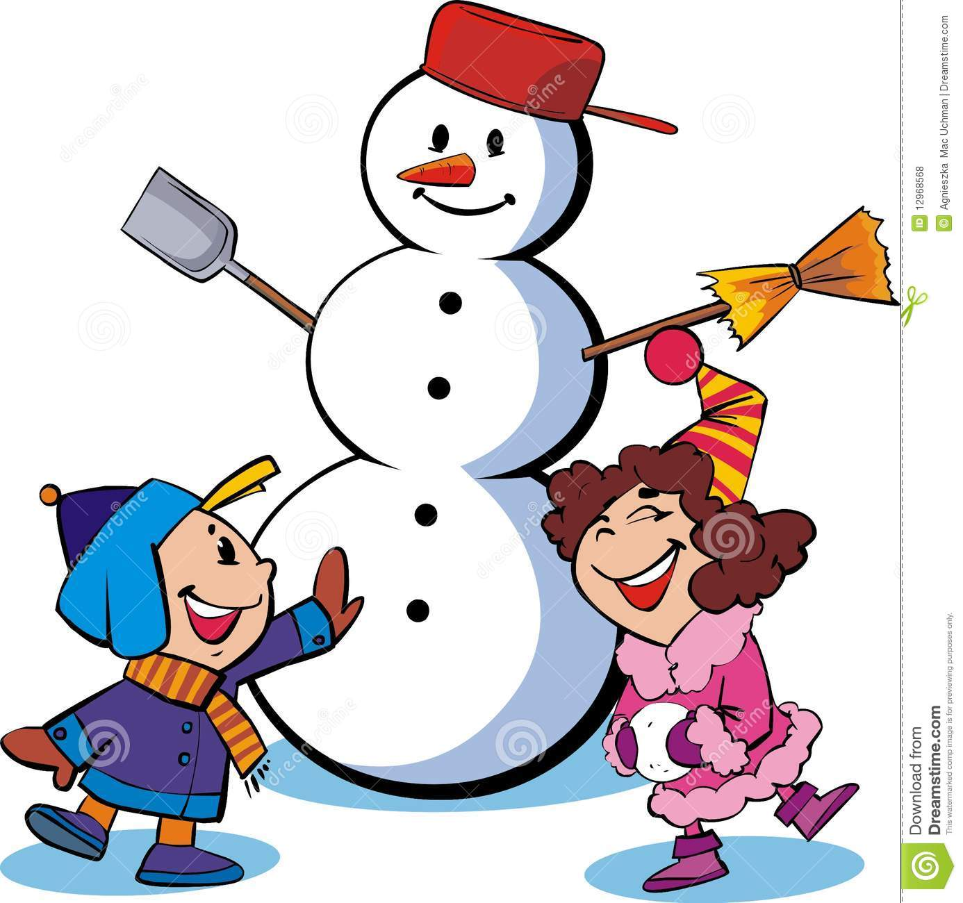 1386x1300 Collection Of Kids Making A Snowman Clipart High Quality