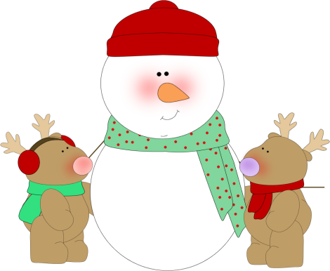 470x386 Transparent Background Snowmen Family Clipart Collection