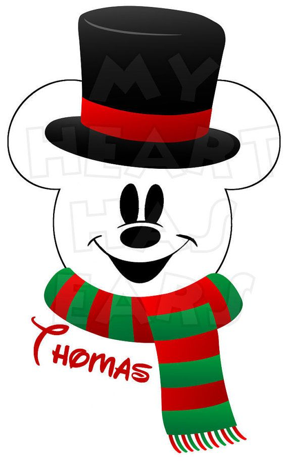 Snowmen At Night Clipart