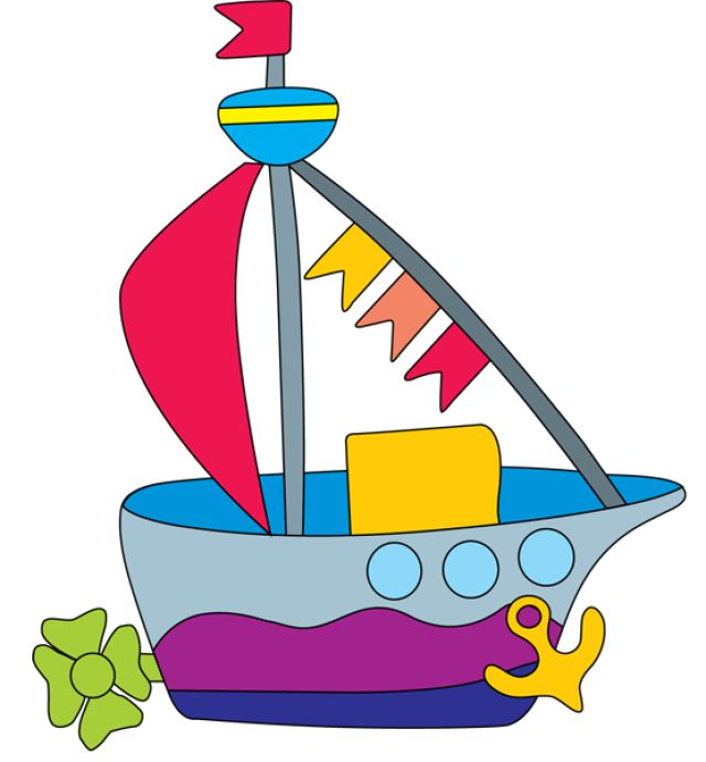640x691 Bicycle Clipart Toy Boat
