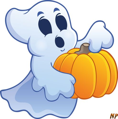 495x500 Haunted Clipart Halloween Decoration 3597165