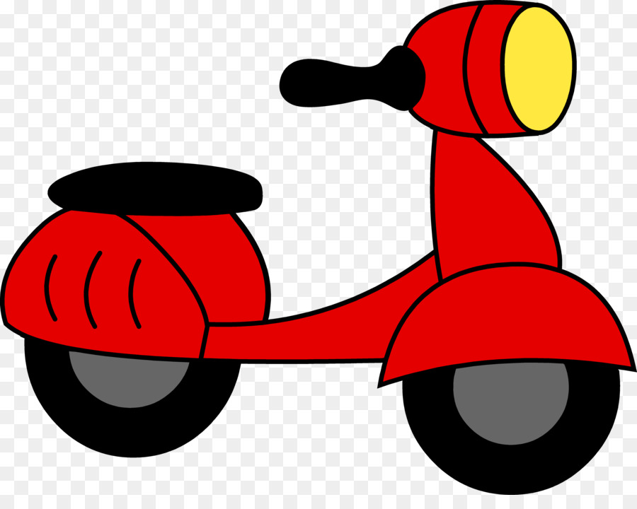 900x720 Scooter Motorcycle Moped Vespa Clip Art