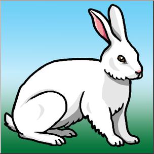 304x304 Clip Art Rabbit Color I Abcteach
