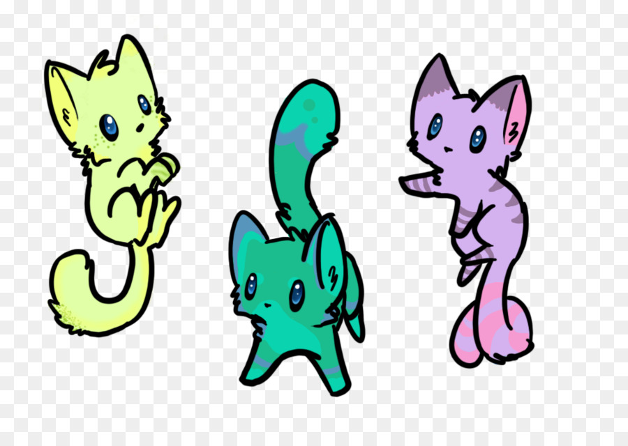 900x640 Snowshoe Cat Kitten Chibi Drawing Clip Art