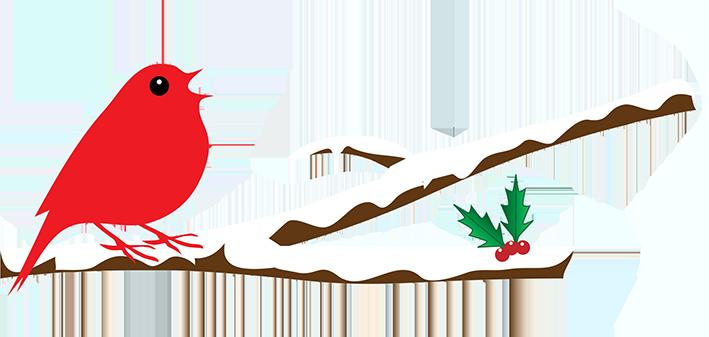 709x337 Snowy Branch Clip Art Cliparts