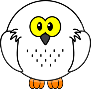 298x291 Snowy Owl Clip Art