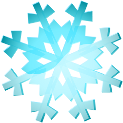 252x252 Snowy Weather Clipart