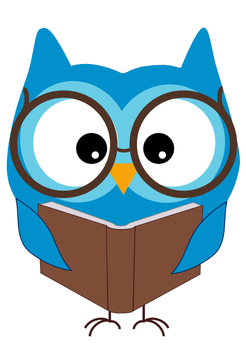 830x1191 Collection Of Cute Owl Reading Clipart High Quality, Free