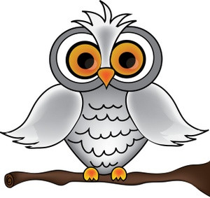 300x283 Owl Clipart Black And White Snowy Owl Clip Art Clipart Best